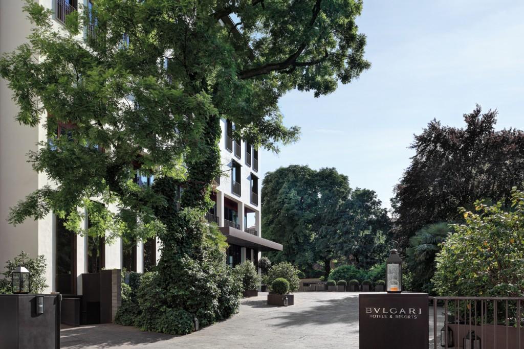 Bulgari Hotel, Milan, Italy, Italian hotel