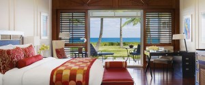 luxury beachfront bedroom