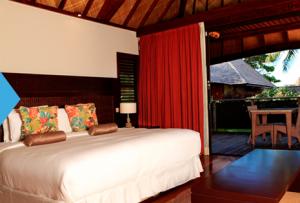 guestroom at the hilton moorea